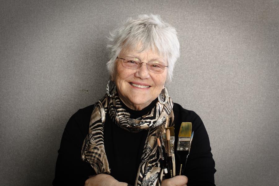 Karlyn Holman; owner of Karlyn's Gallery