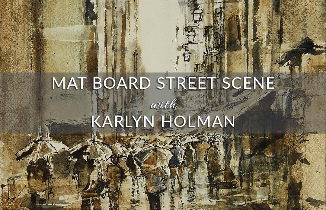 Mat Board Street Scene Video