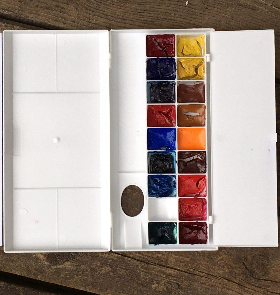 Turner Filled Palette