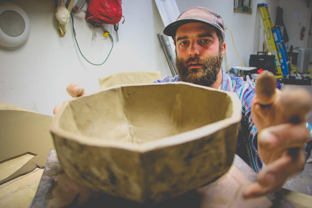 John Scully Pottery and Caramics