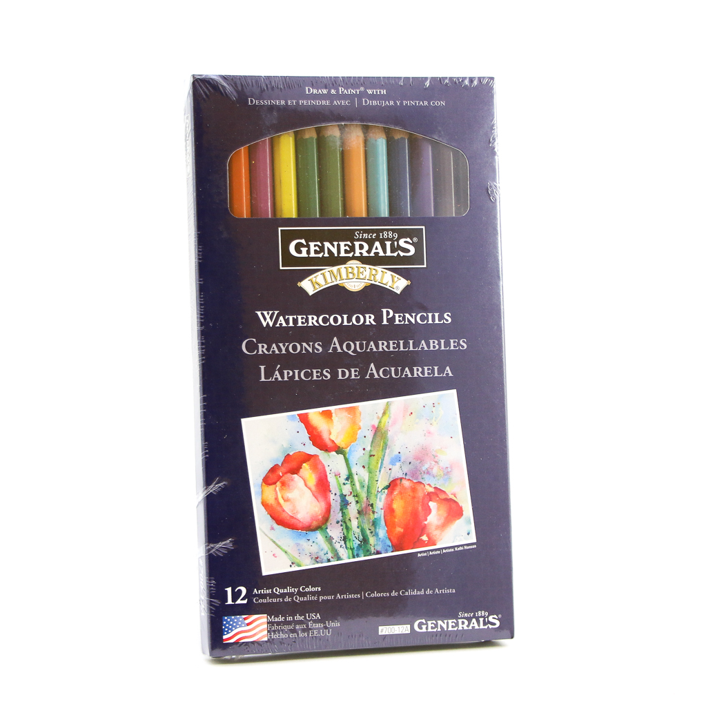 Watercolor Pencil Set by Kimberly General Pencil