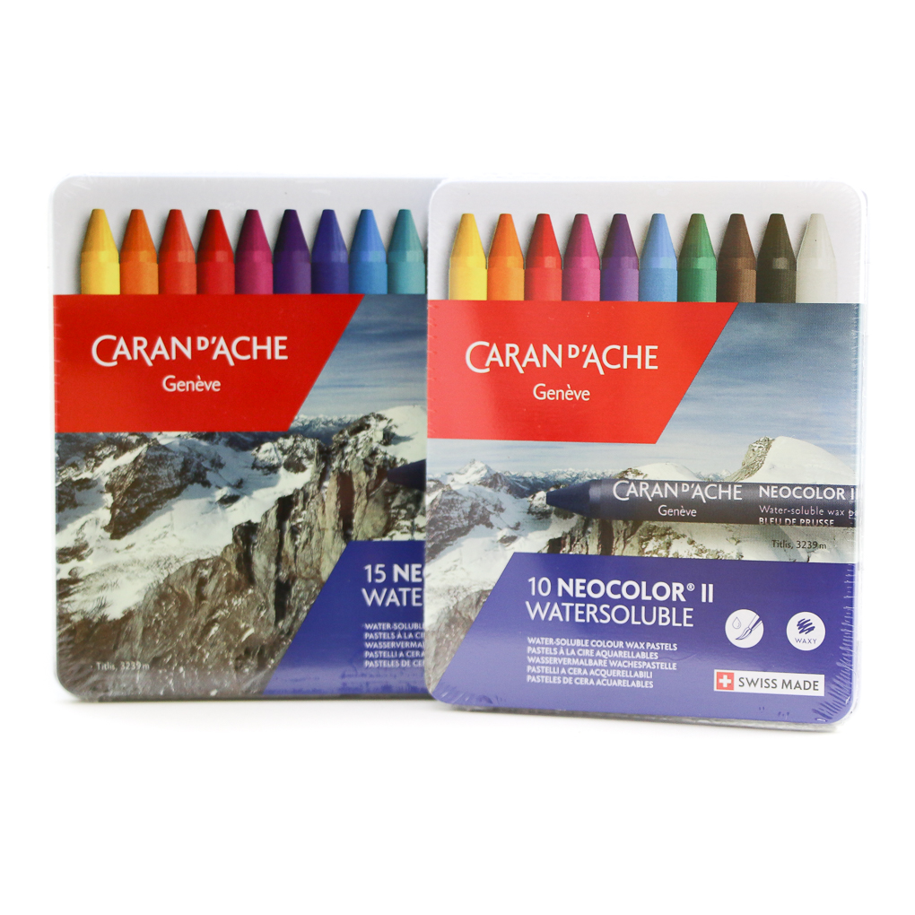 Watercolor Crayons by Caran D Ache