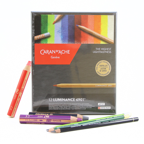 Watercolor Pencil Set by Caran D'Ache Luminance