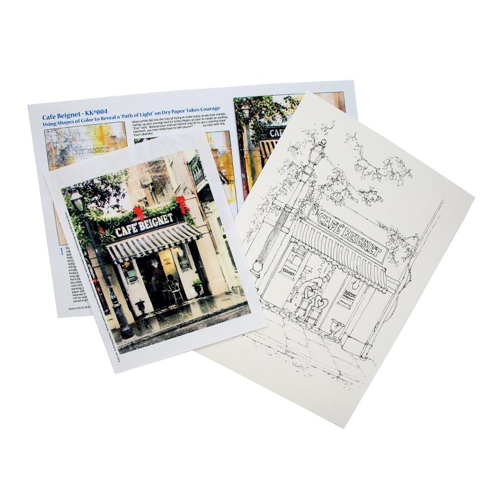 Watercolor Kits and Packets