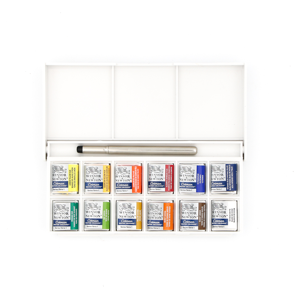 Watercolor Palette - Sketchers Pocket Box