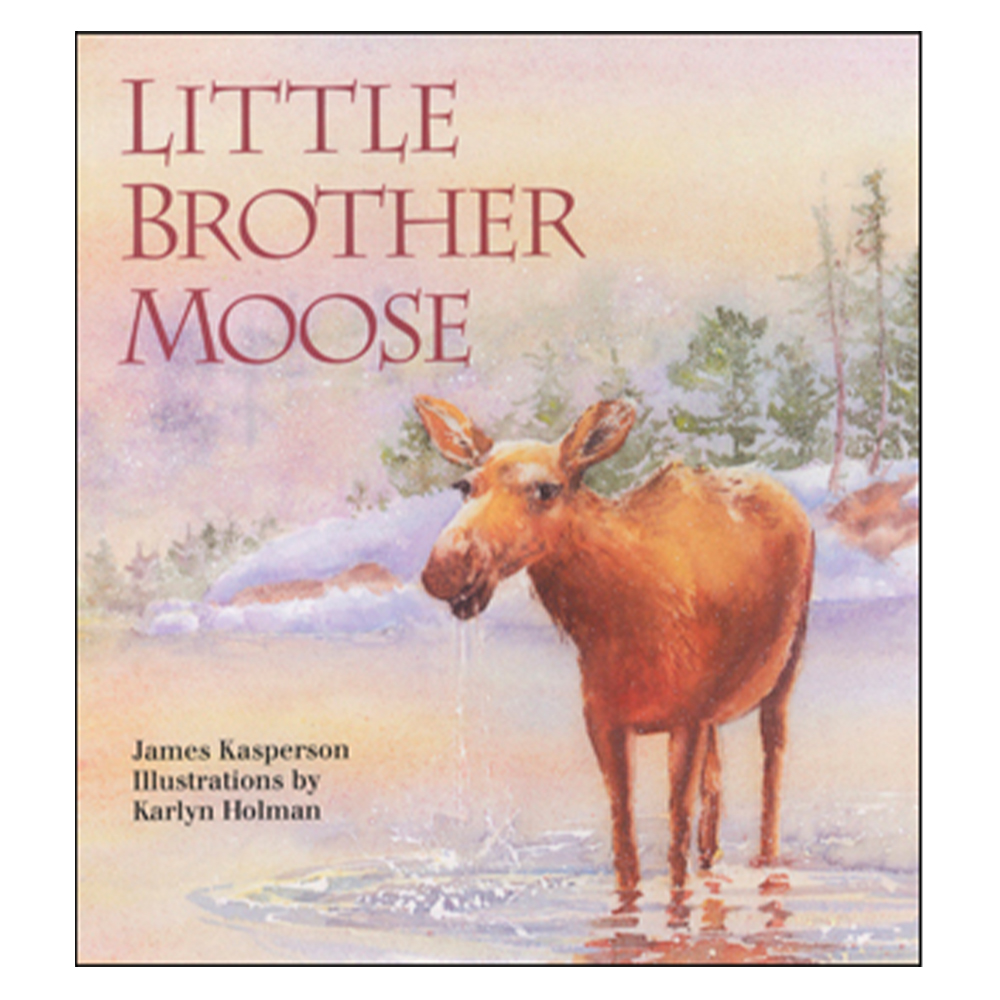 Little Brother Moose - Soft Cover