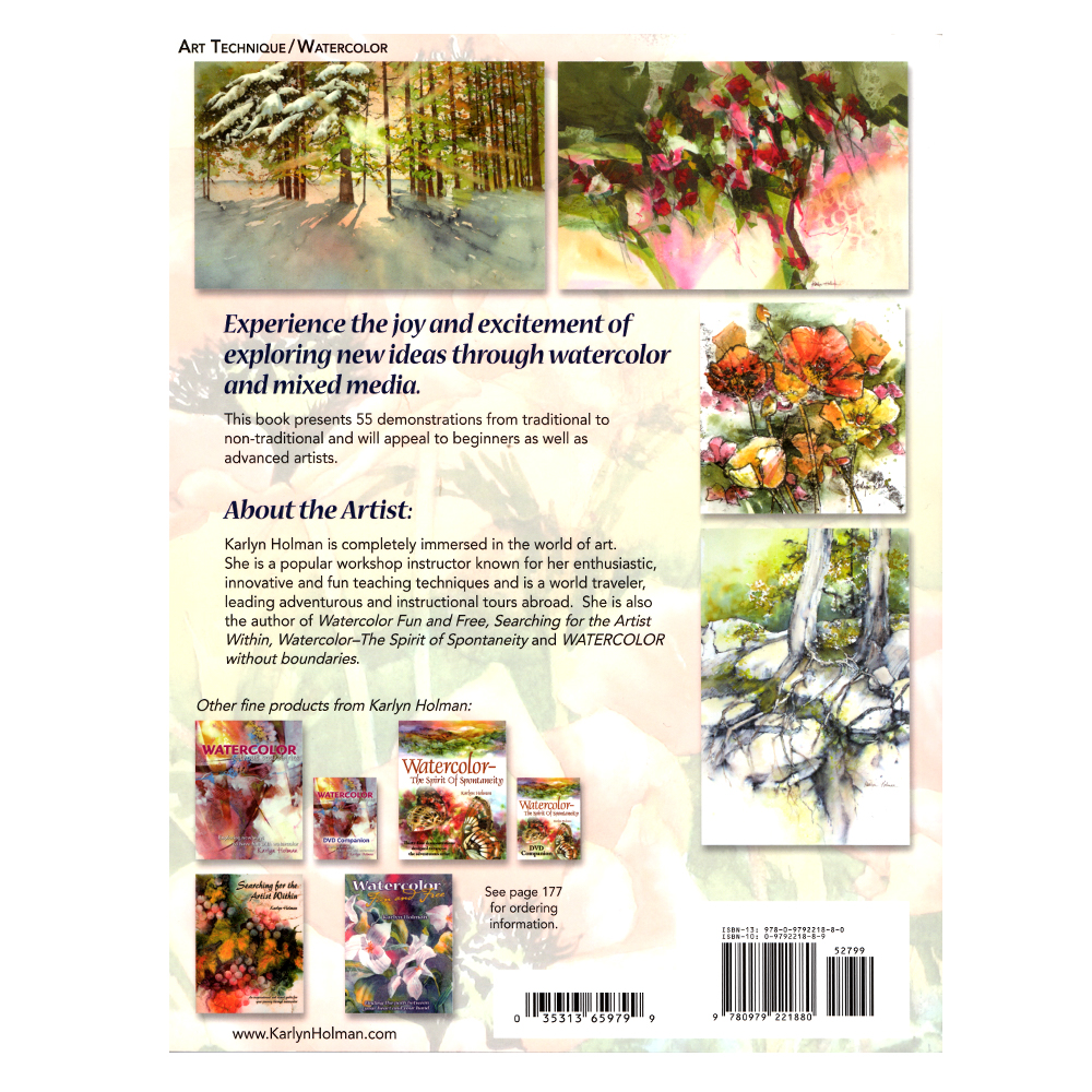 Watercolor Making Your Mark Book