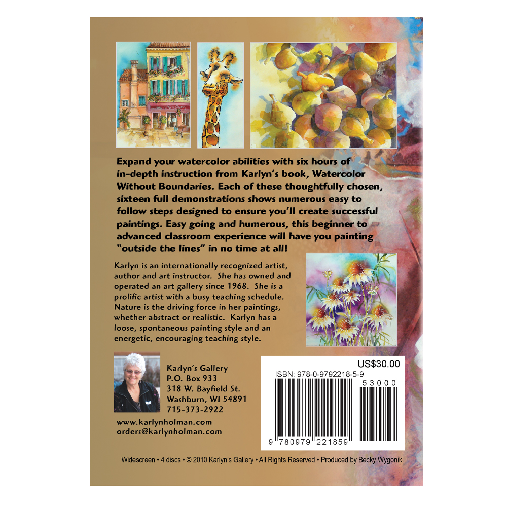 Watercolor Without Boundaries DVD