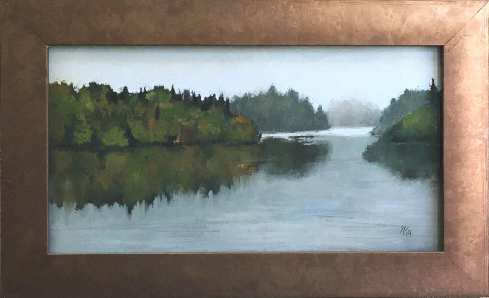 Joanne Meierhoffer Lake Scene