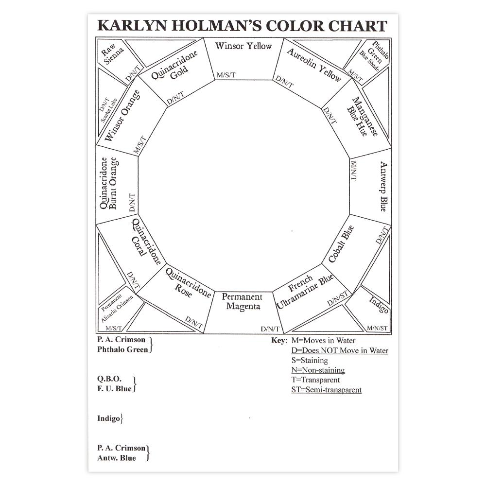 Color Wheel Blank