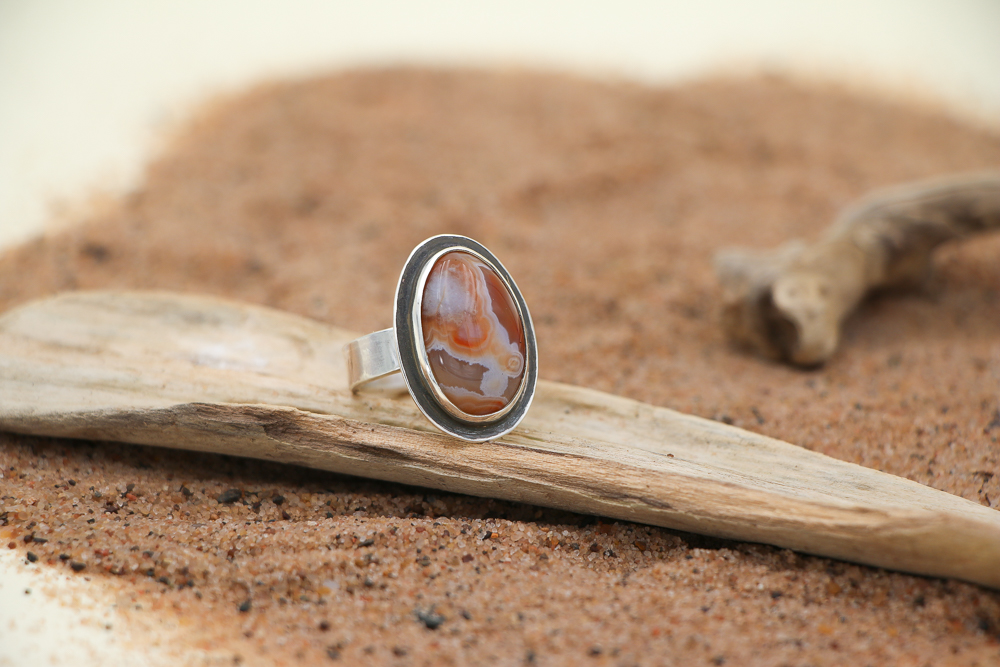Lake Superior Agate by Ron Piercy