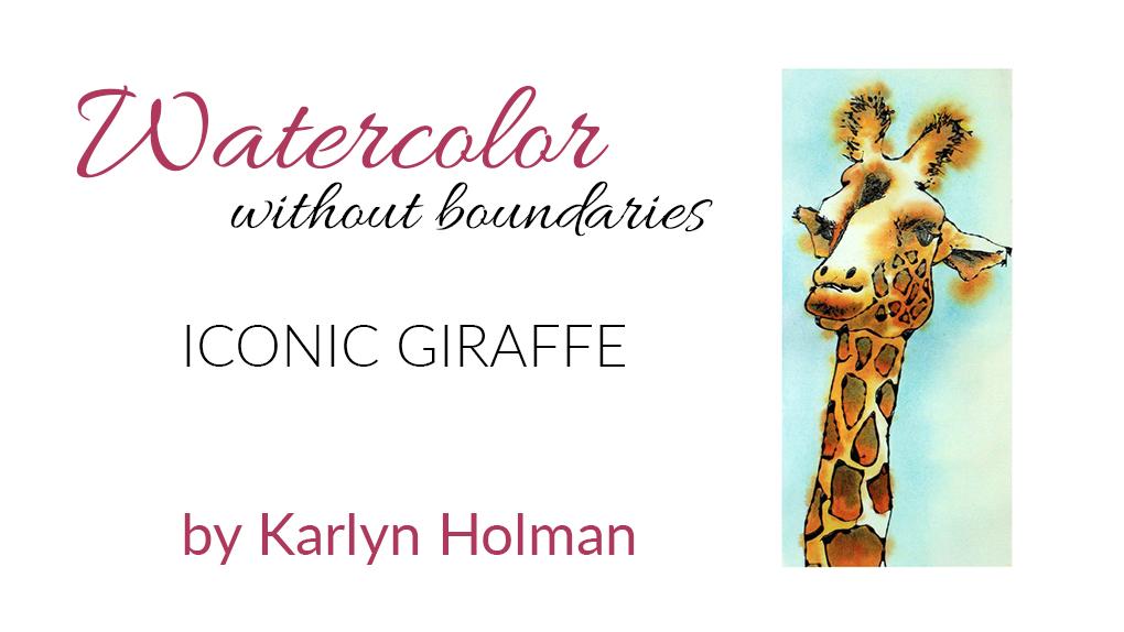 Iconic Giraffe w/Gutta Bottle Kit with video
