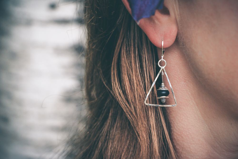 Sterling Silver Triangles