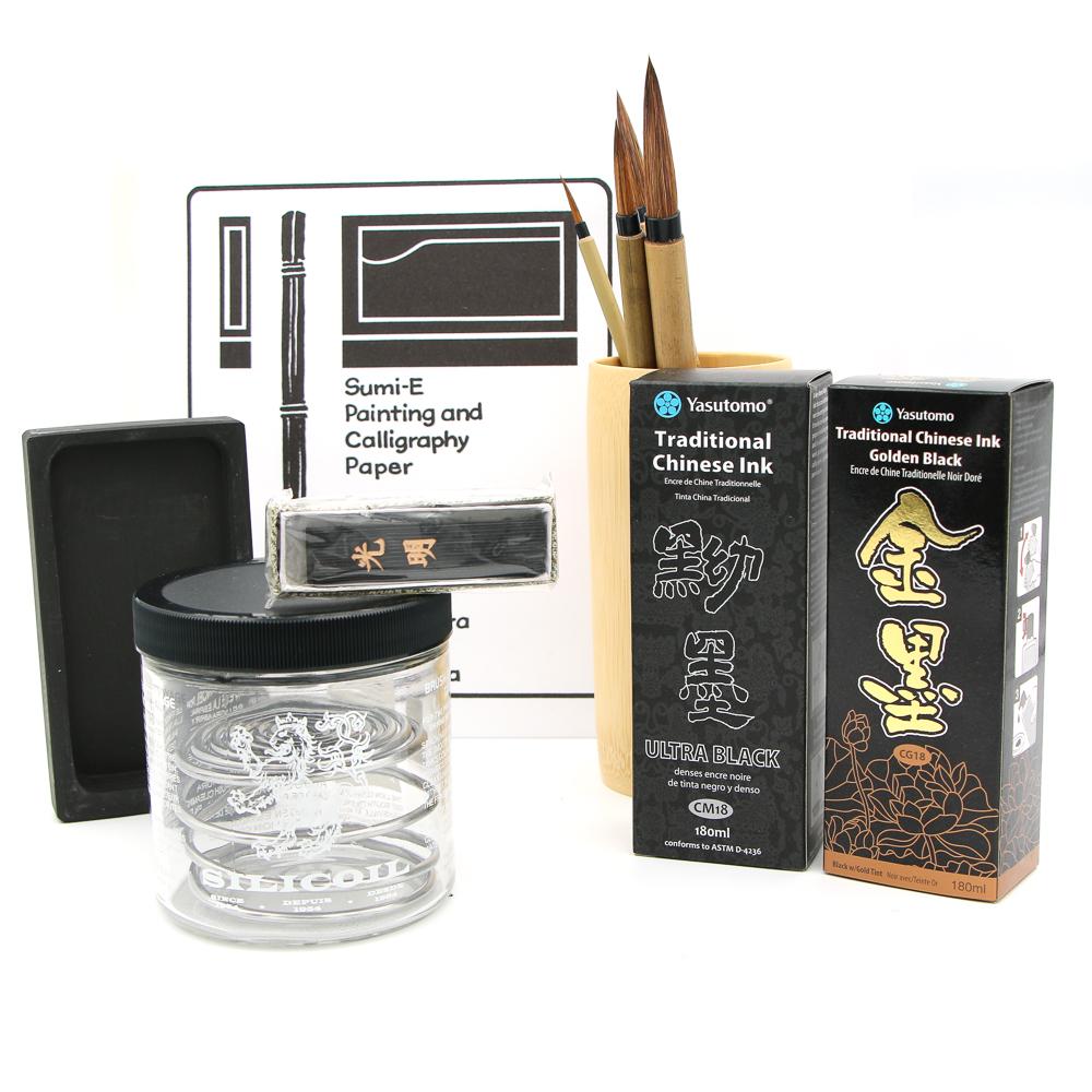 Yasutomo Traditional Ultra Black Ink