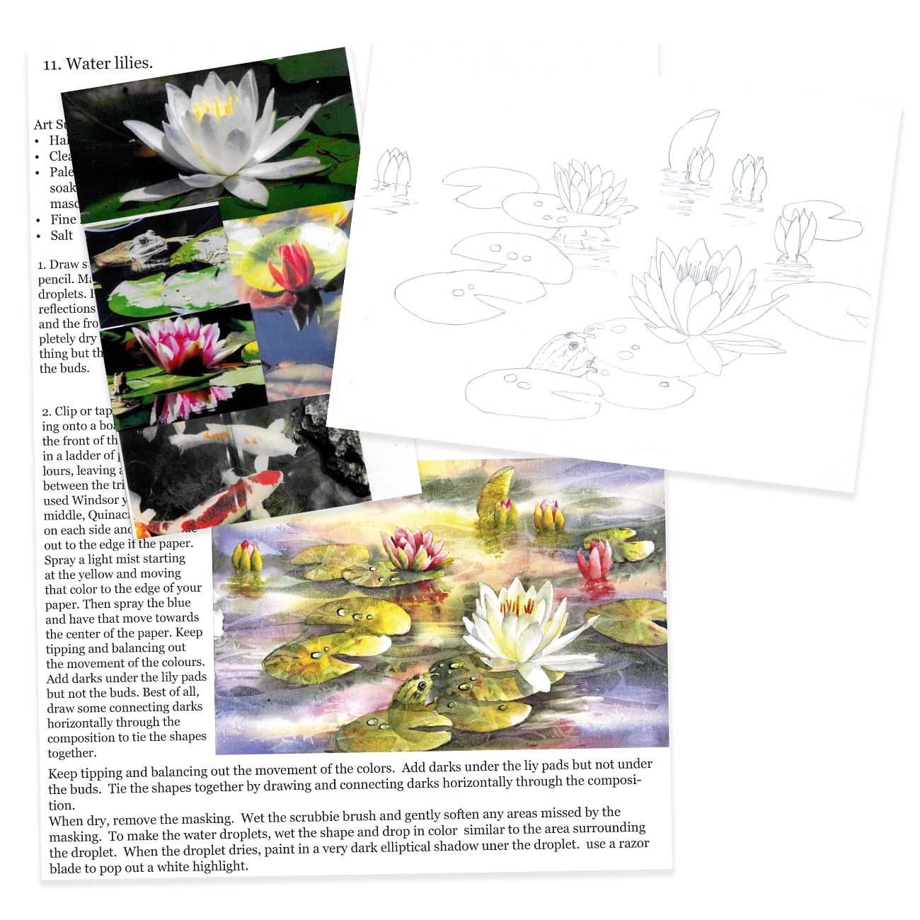 #11 Water Lilies Kit