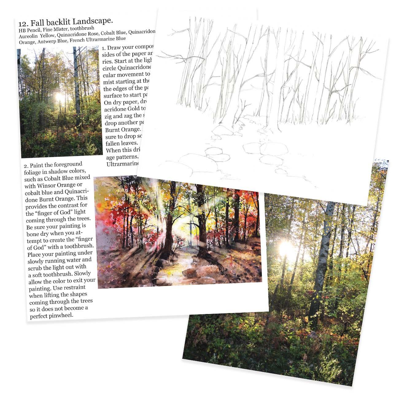 #12 Fall Landscape Kit