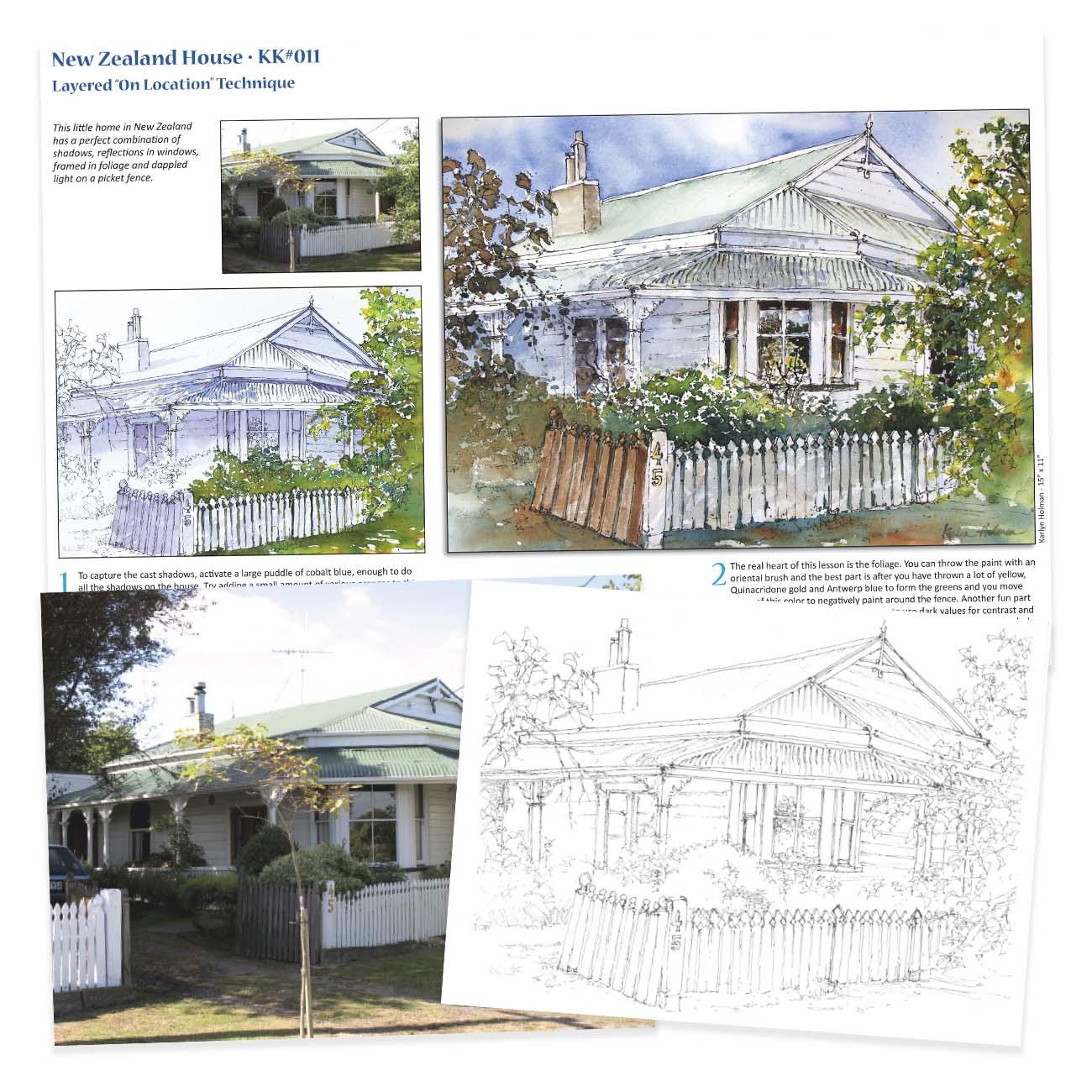 KK011 New Zealand House