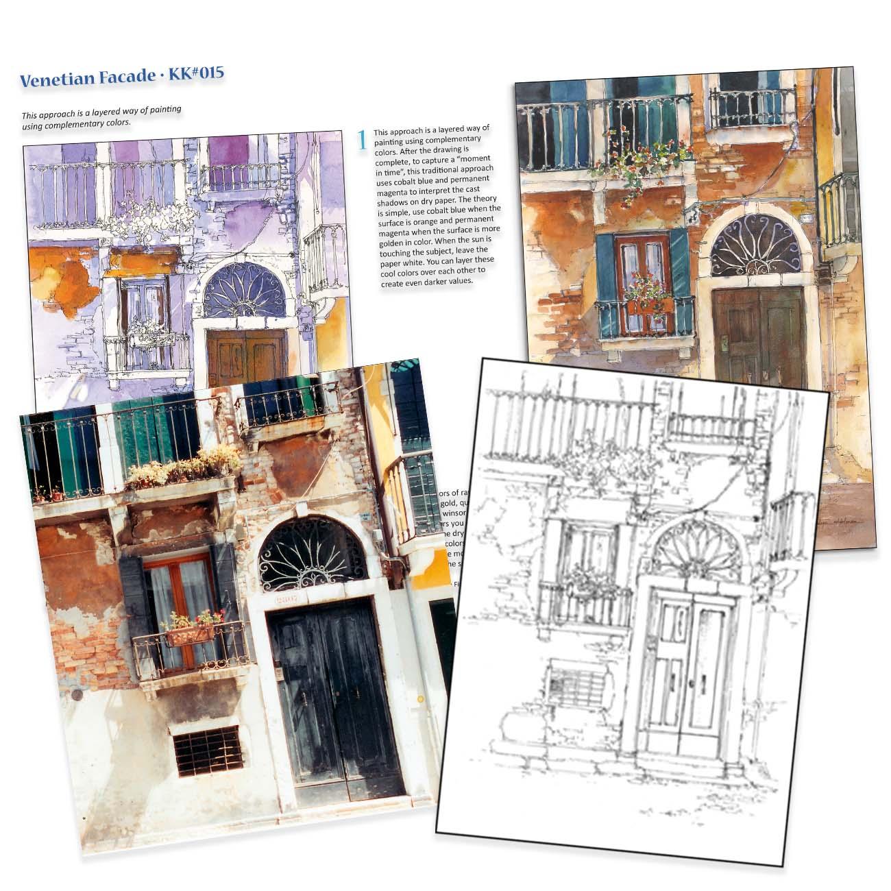KK015 Venetian Facade
