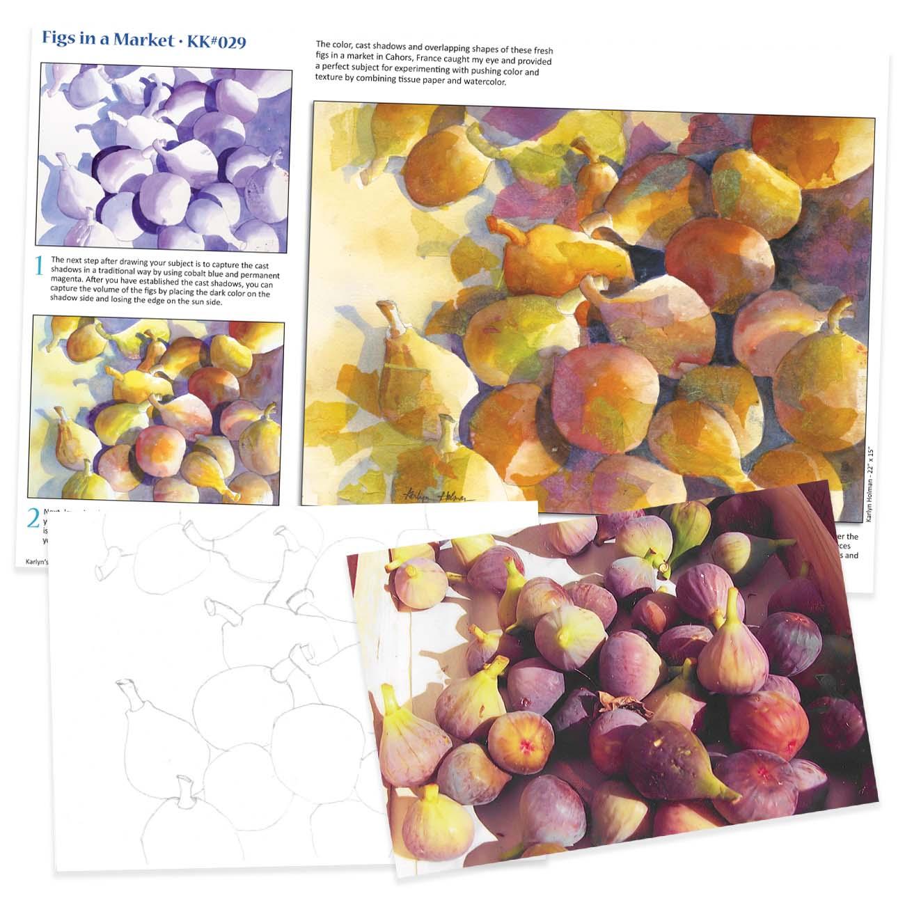 KK029 Figs in a Market