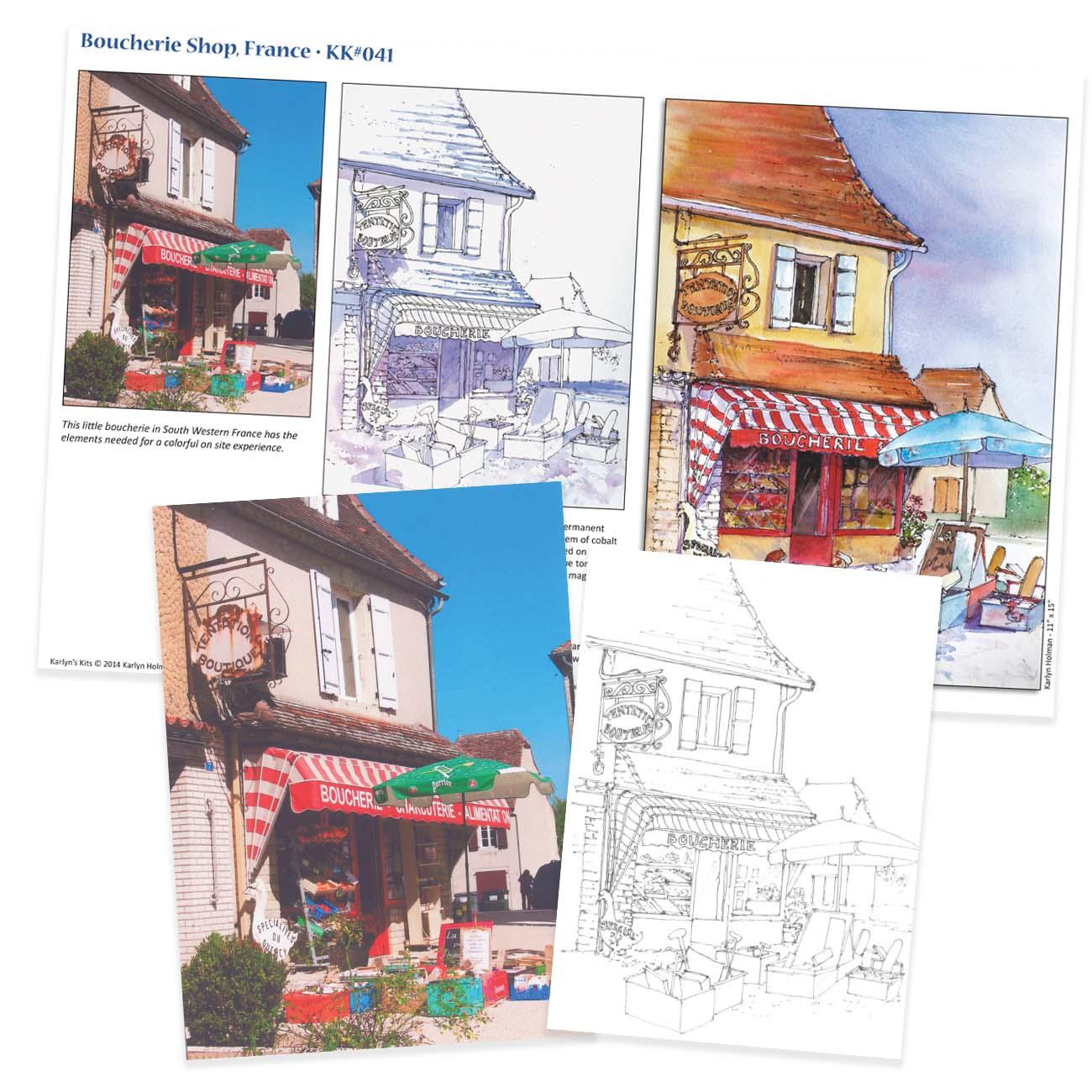 KK041 Boucherie Shop, France