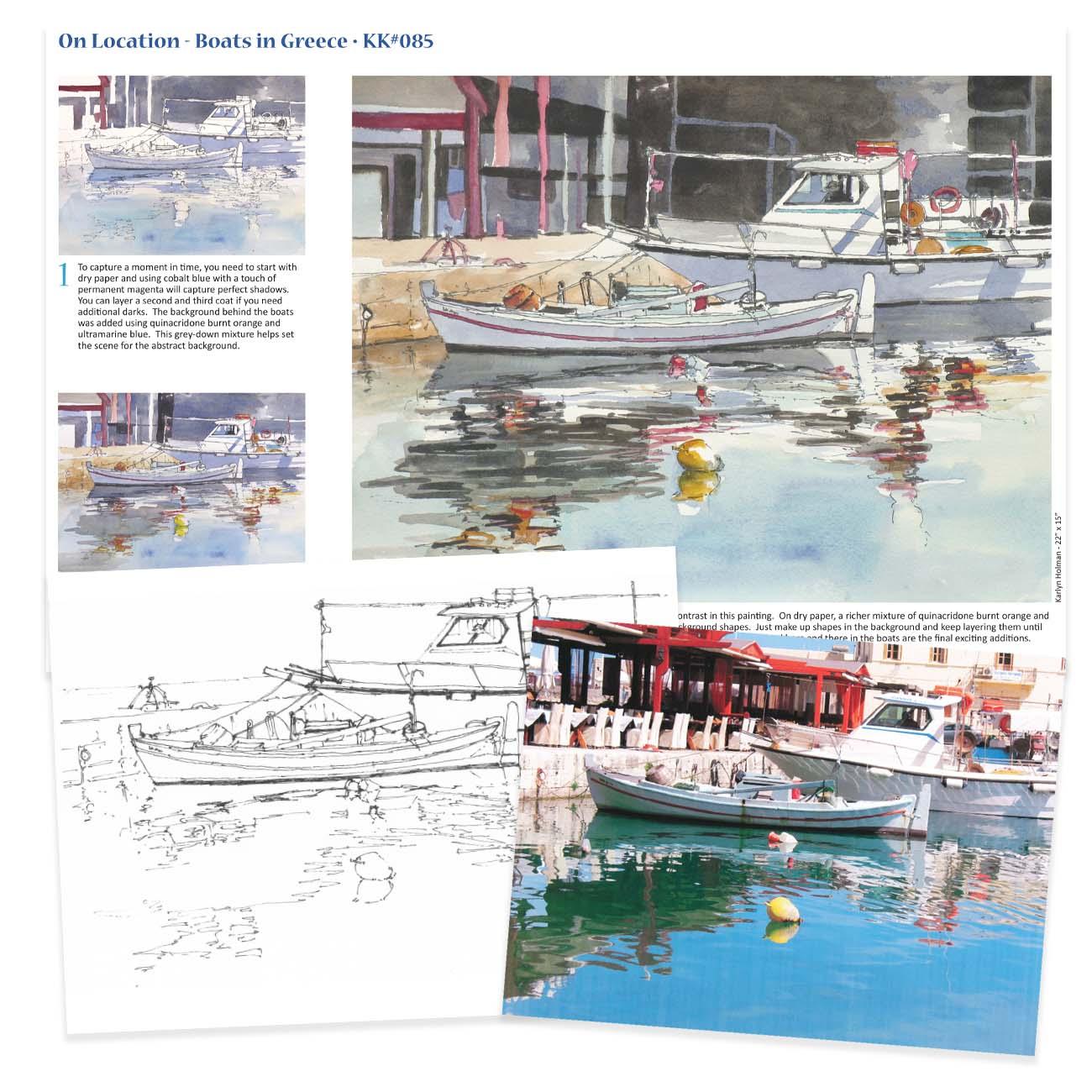 KK085 - Boats in Greece, On Location