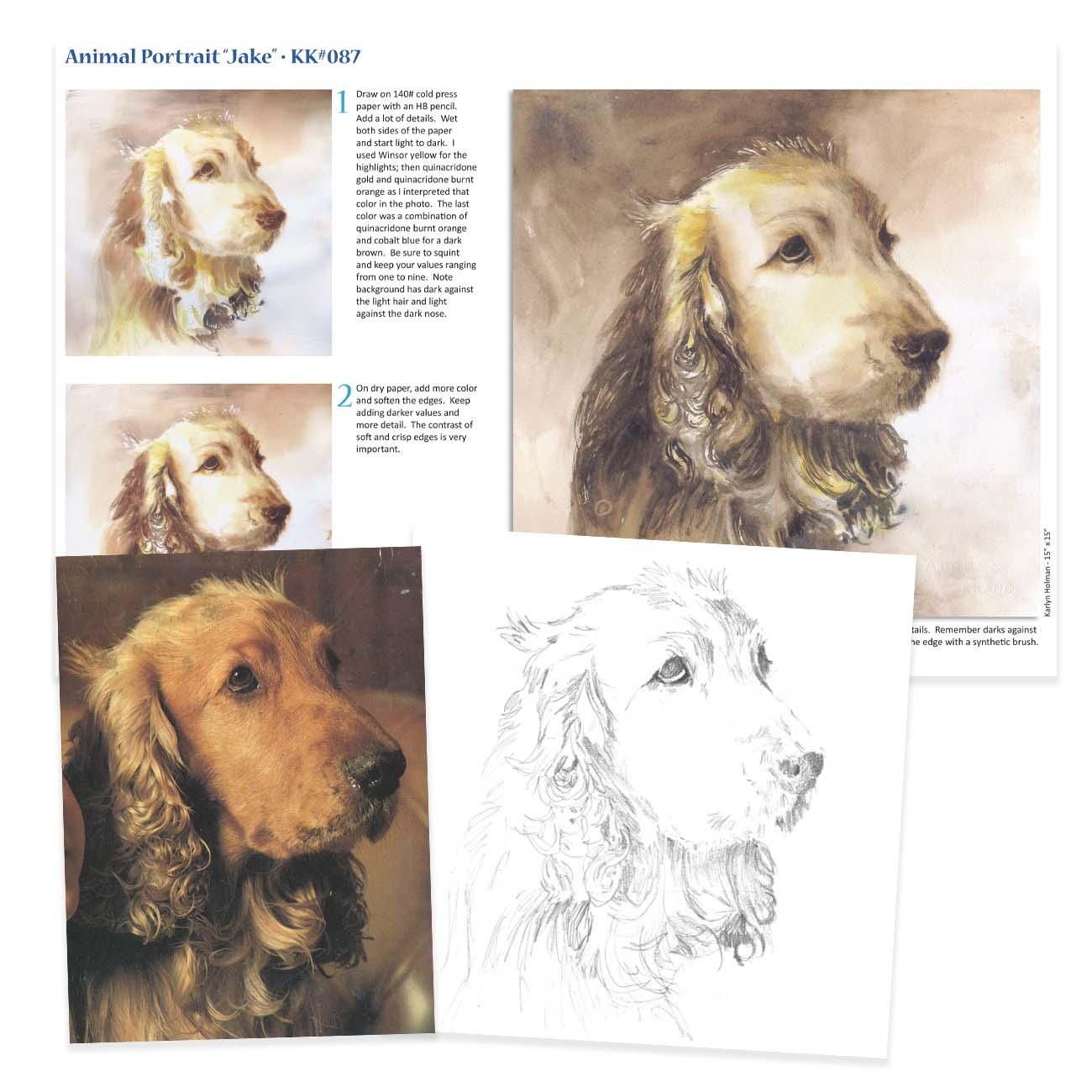 KK087 - Animal Portrait, Jake