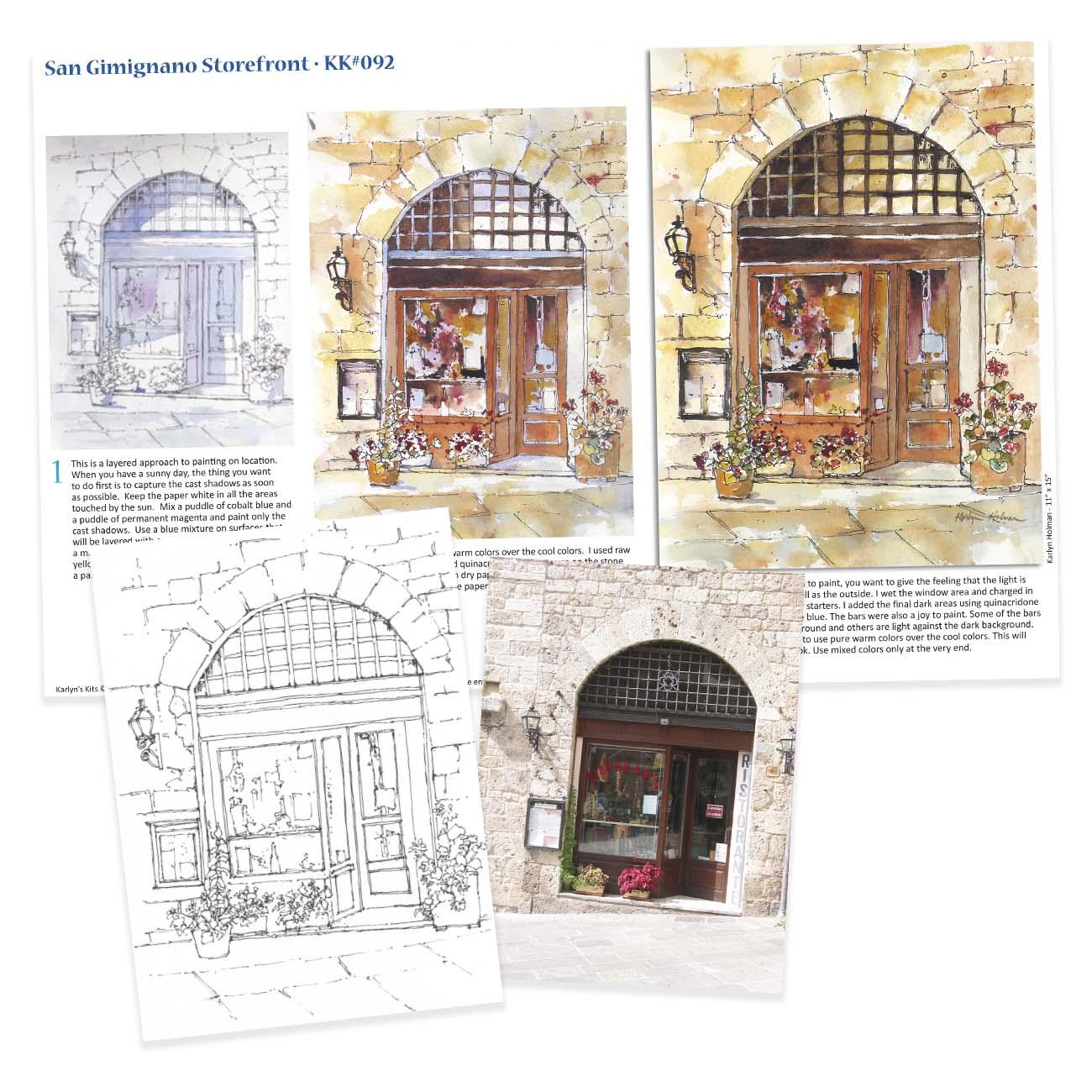 KK092 - San Gimignano Storefront