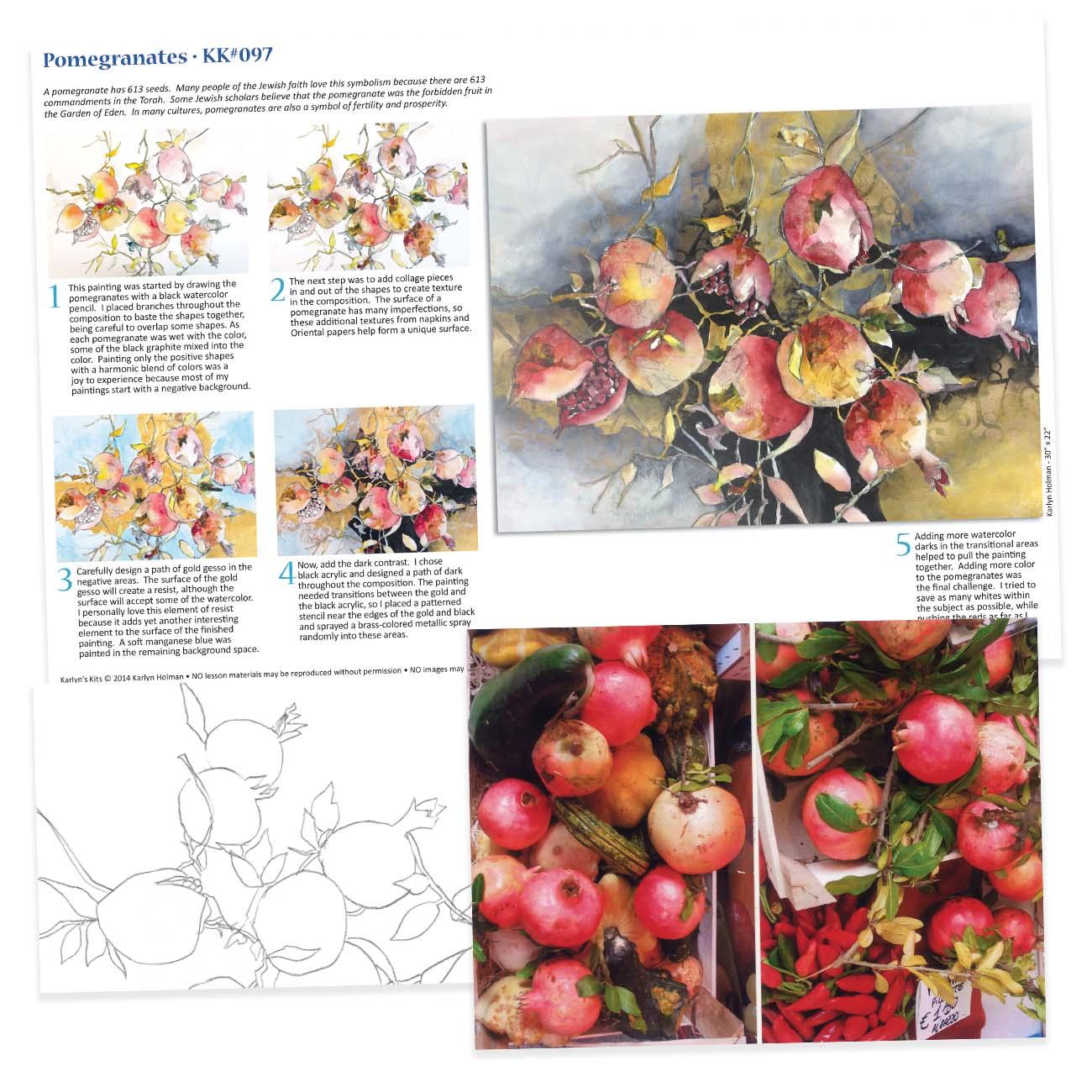 KK097 - Pomegranates