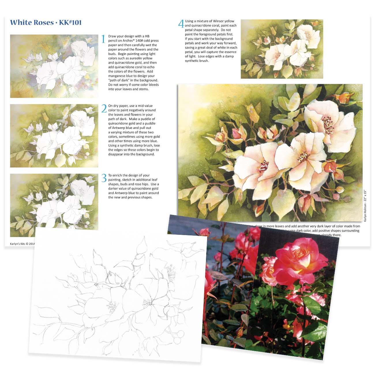 KK101 - White Roses